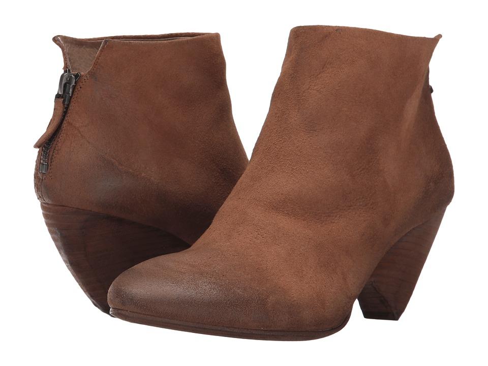 Marséll Sculpted Heel Bootie (Walnut) Women's Boots
