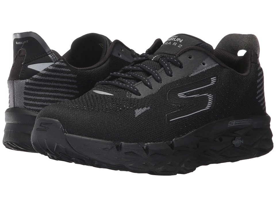 Skechers Go Run Ultra R (Black) Women's Running Shoes