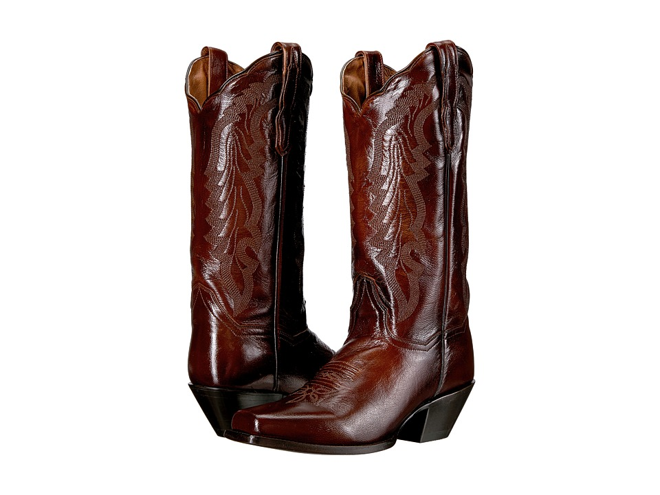 Dan Post Avalon (Antique Tan) Cowboy Boots