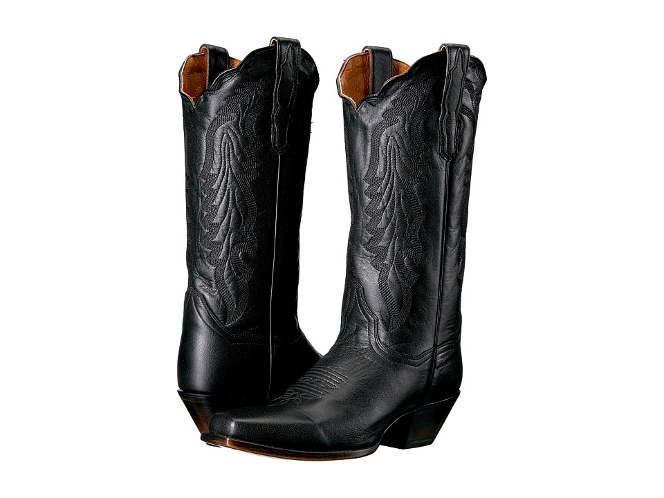 Dan Post Avalon (Black) Cowboy Boots