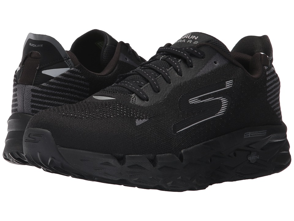 SKECHERS Go Run Ultra R (Black) Men