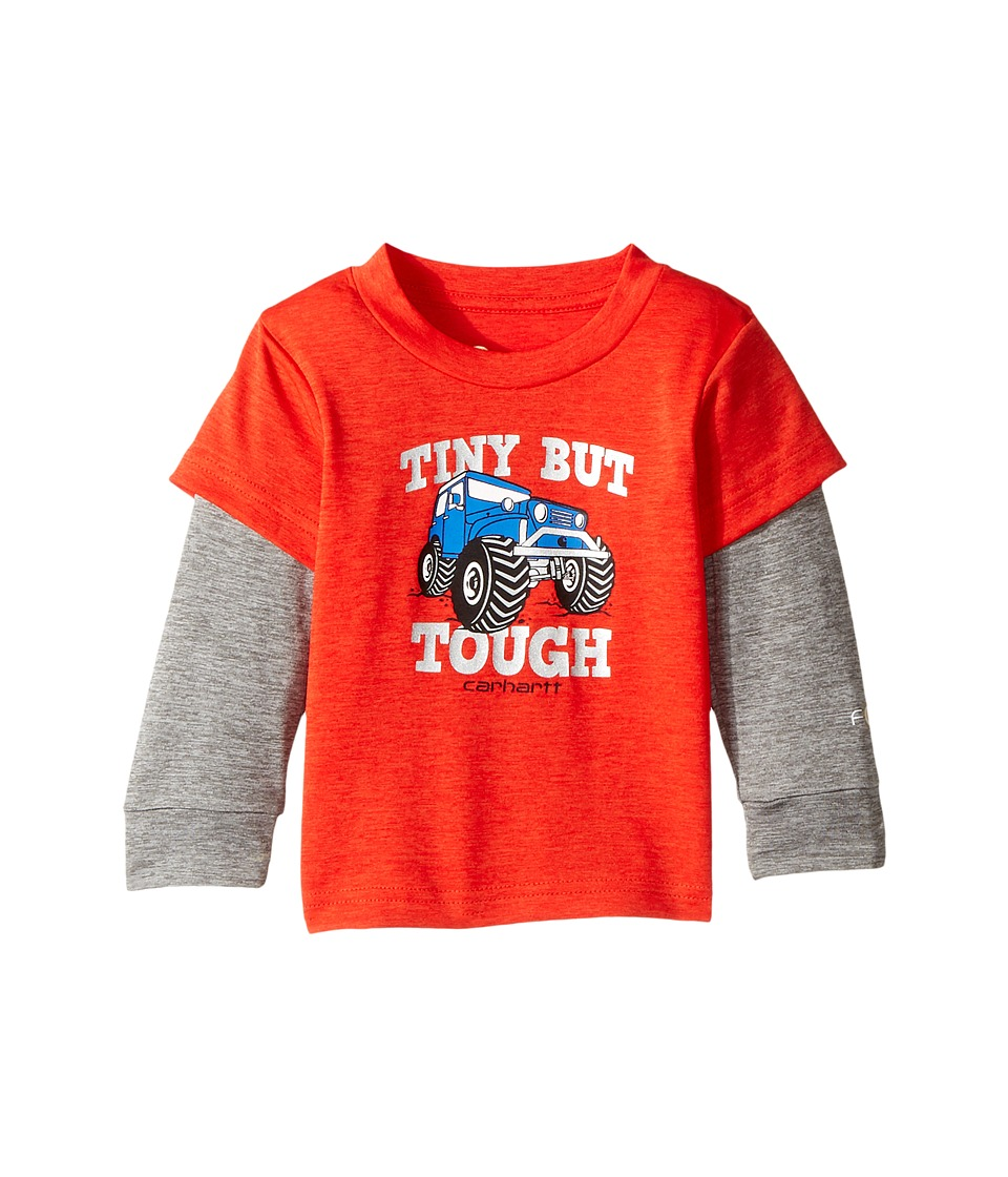 Carhartt Kids - Force Tiny But Tough Tee (Infant) (Bright...