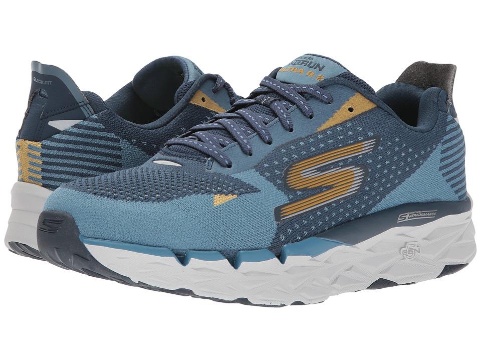 SKECHERS Go Run Ultra R (Blue/Navy) Men