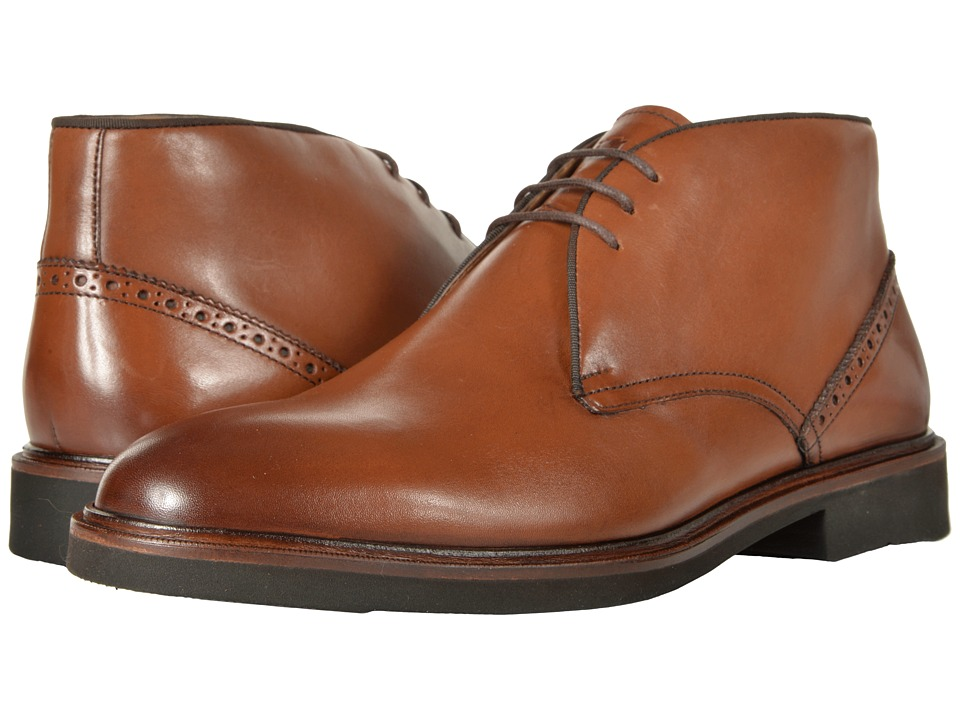 Florsheim Truman Chukka Boot (Cognac Smooth) Men