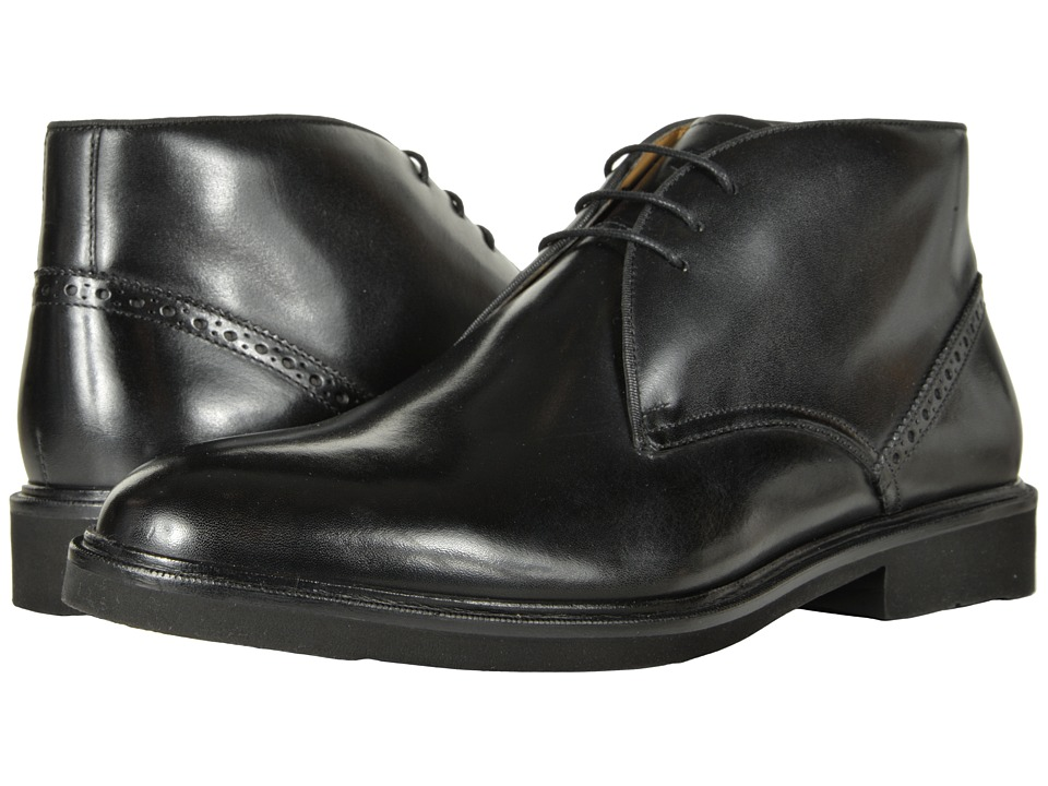 Florsheim Truman Chukka Boot (Black Smooth) Men