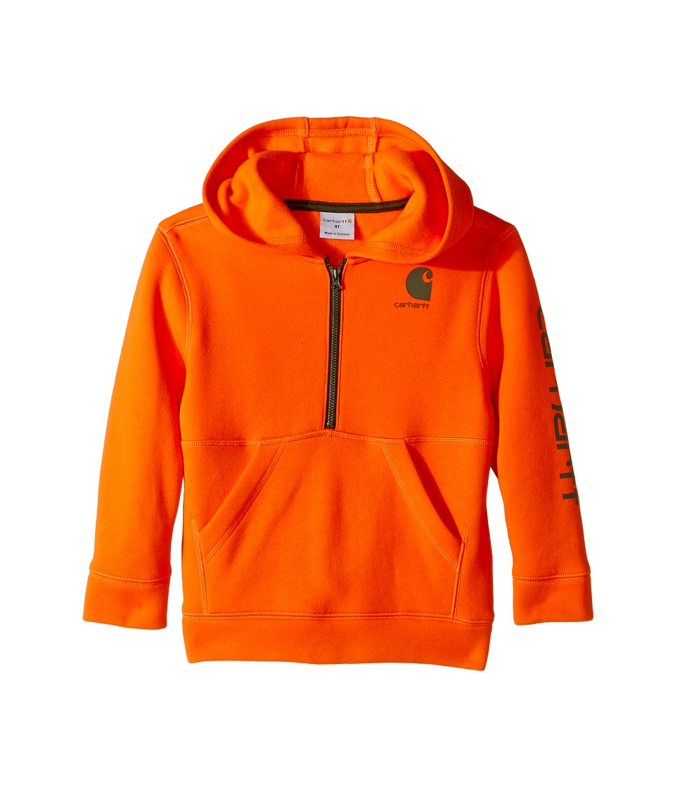 Carhartt Kids Carhartt Kids - Logo Fleece 1/2 Zip Sweatshirt