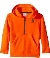 Carhartt Kids - Logo Fleece 1/2 Zip Sweatshirt (Toddler)
