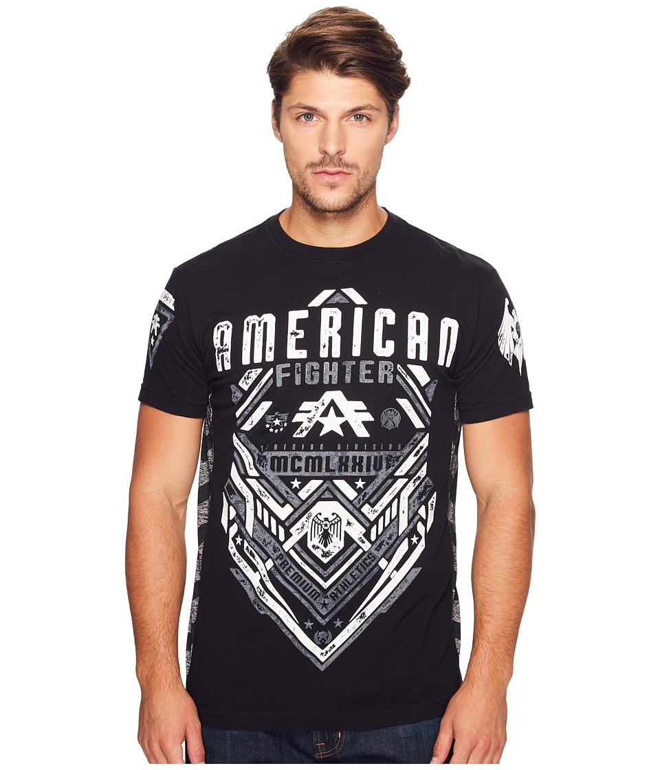 American Fighter American Fighter - Miller Short Sleeve Panel Tee