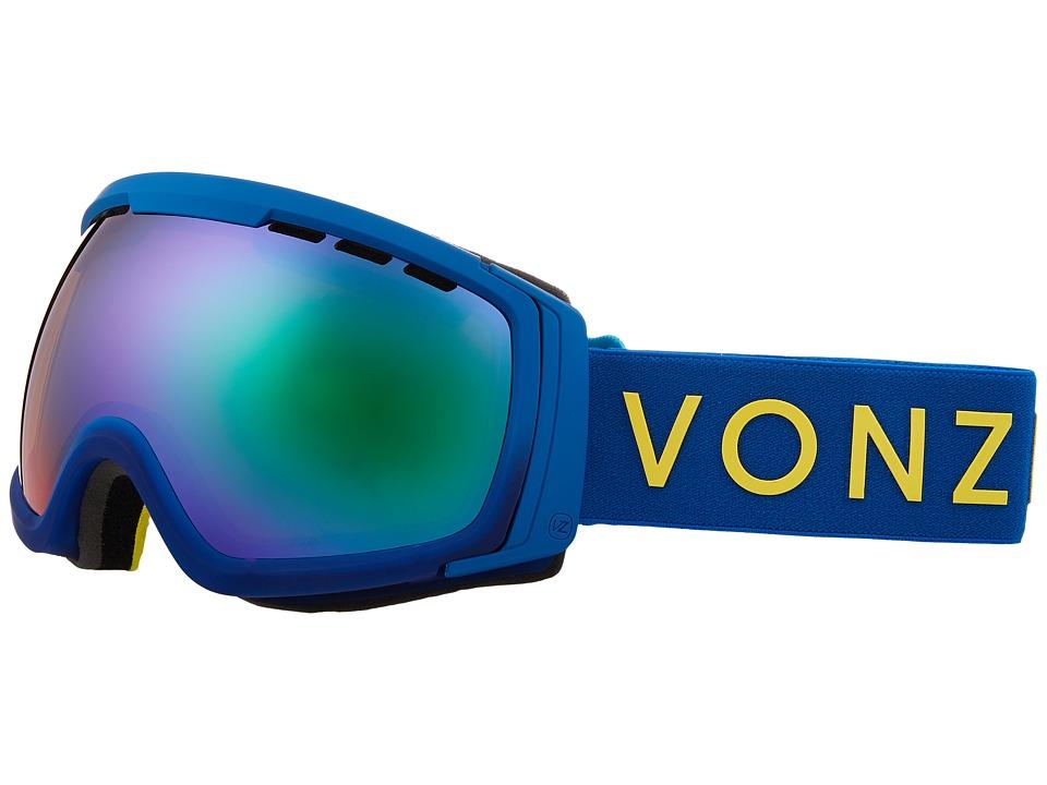VonZipper Feenom NLS Goggle (Blue Satin/Quasar Chrome) Goggles