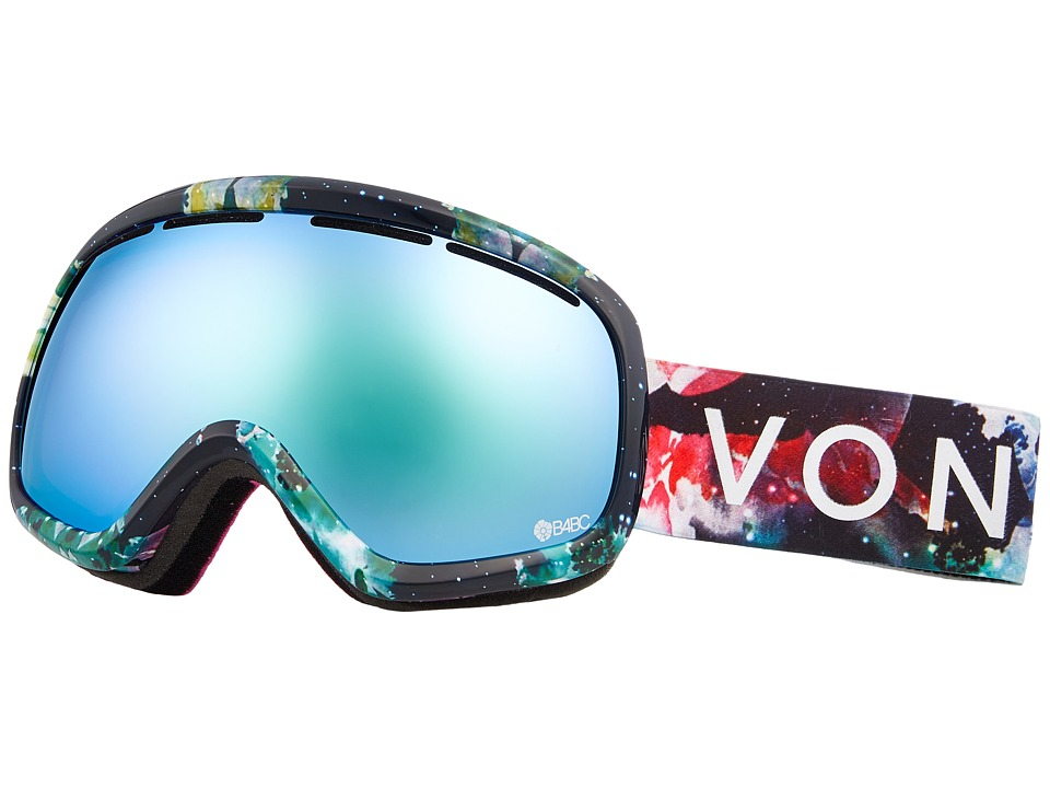 VonZipper Skylab Goggle (B4BC Cosmic Foxx/Stellar Chrome) Snow Goggles