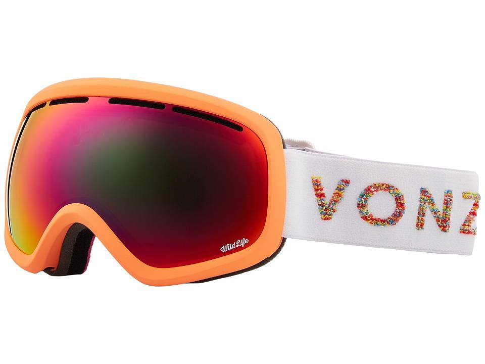 VonZipper Skylab Goggle (Coral Satin/Wildlife) Snow Goggles