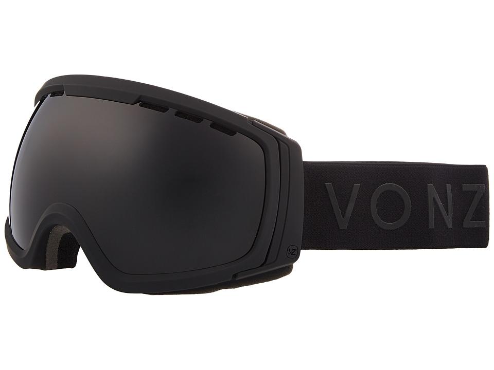 VonZipper Feenom NLS Goggle (Black Satin/Blackout) Goggles