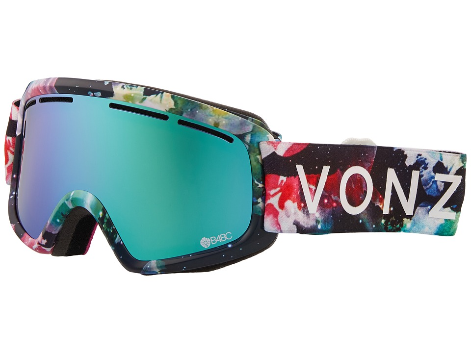 VonZipper Trike Goggle (B4BC Cosmic Foxx/Stellar Chrome) Goggles