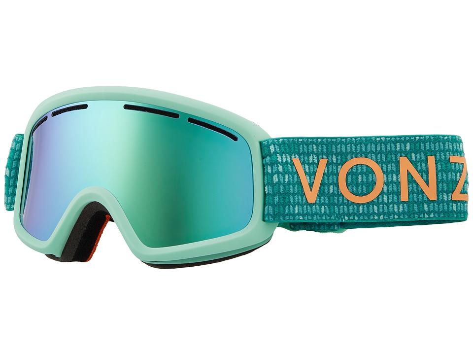 VonZipper Trike Goggle (Mint Satin/Stellar Chrome) Goggles