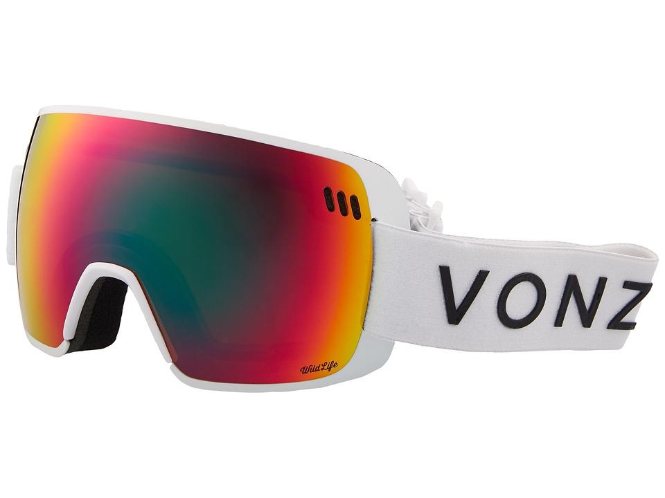 VonZipper ALT-XM Goggle (White Satin/Wildlife) Goggles