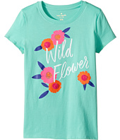 Kate Spade New York Kids - Wildflower Tee (Little Kids/Big Kids)