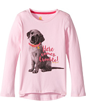 Carhartt Kids - Here Comes Trouble Puppy Tee (Little Kids)