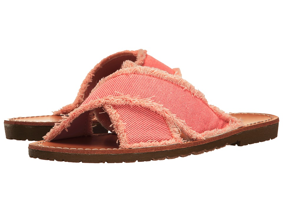 Dirty Laundry Empowered Slide (Rose Pink) Women