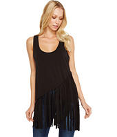Roper - 0980 Poly Spandex Tank Top with Self Fringe