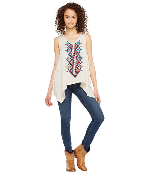 Roper 1105 Poly Rayon Heather Jersey Tank Top