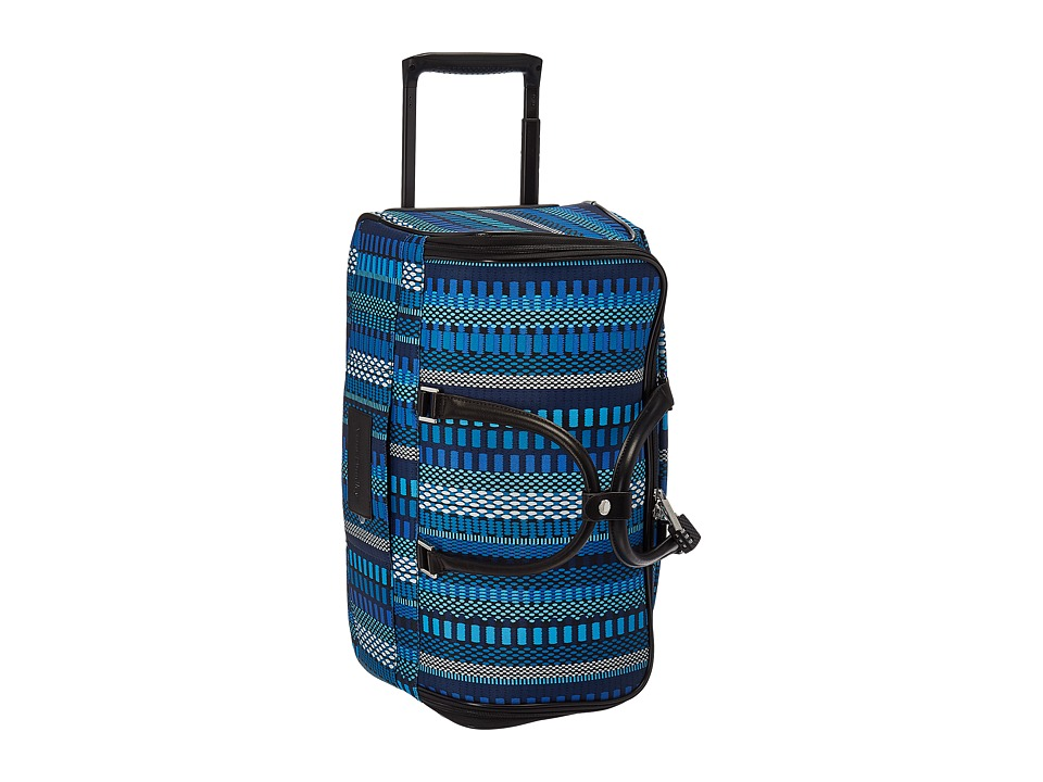 Vera Bradley Luggage 22 Rolling Duffel (Cha-Cha Blue) Carry on Luggage