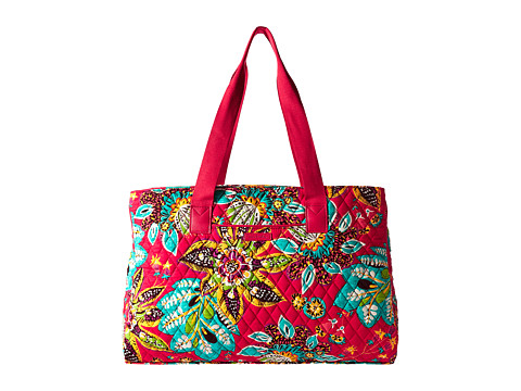 Vera Bradley Luggage Triple Compartment Travel Bag - Rumba