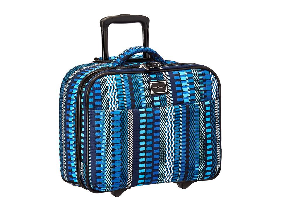 Vera Bradley Luggage - On a Roll Work Bag (Cha-Cha Blue) ...