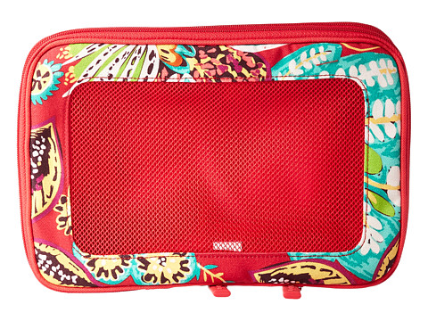 Vera Bradley Luggage Small Expandable Packing Cubes - Rumba
