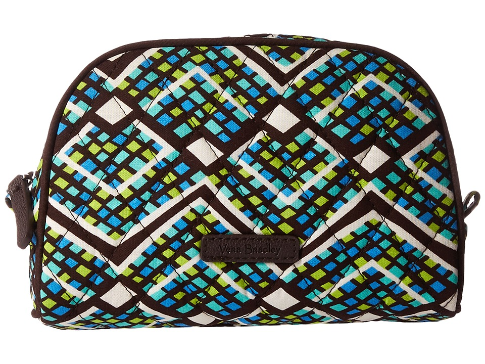 Vera Bradley Luggage Small Zip Cosmetic (Rain Forest) Cosmetic Case