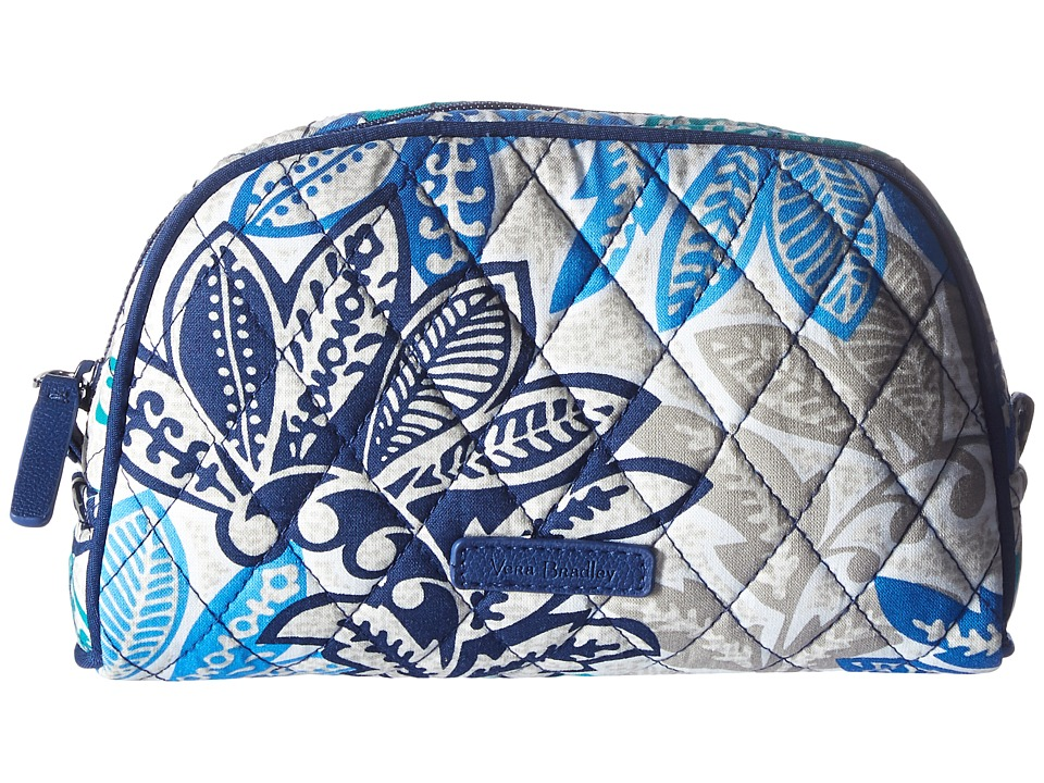 Vera Bradley Luggage Small Zip Cosmetic (Santiago) Cosmetic Case
