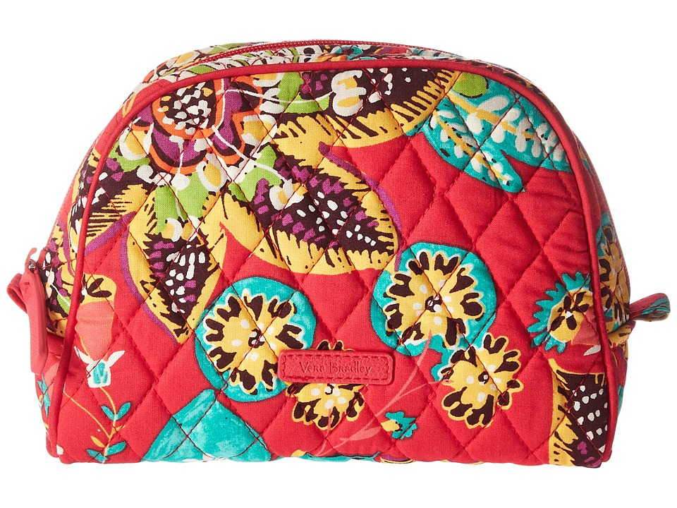 Vera Bradley Luggage Medium Zip Cosmetic (Rumba) Cosmetic Case
