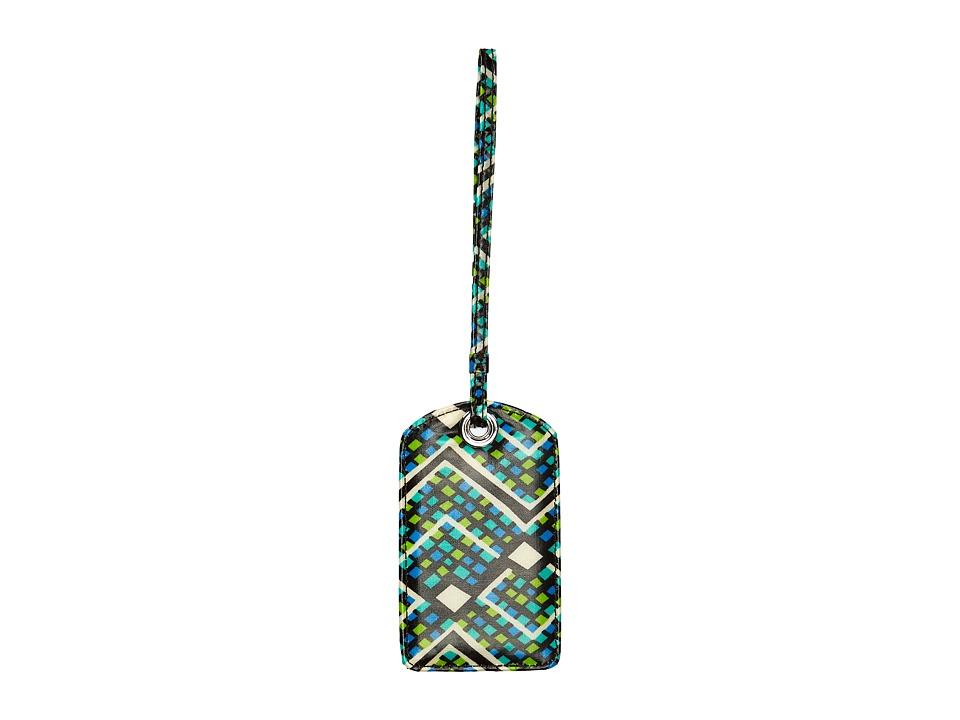 Vera Bradley Luggage Luggage Tag (Rain Forest) Luggage