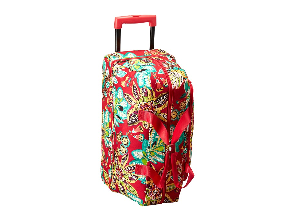Vera Bradley Luggage Lighten Up Wheeled Carry On (Rumba) Carry on Luggage