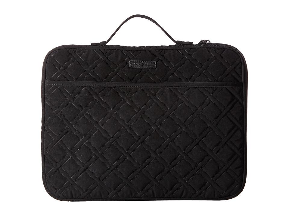 Vera Bradley Laptop Organizer (Classic Black) Briefcase Bags