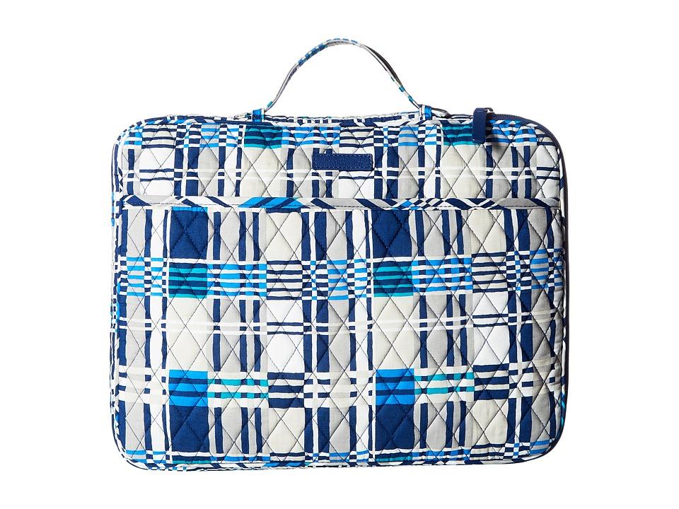 Vera Bradley Laptop Organizer (Santiago Woven) Briefcase Bags