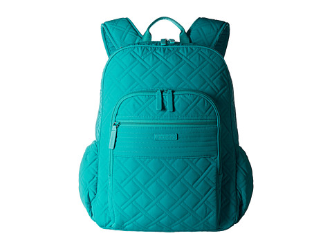 Vera Bradley Campus Tech Backpack - Turquoise Sea