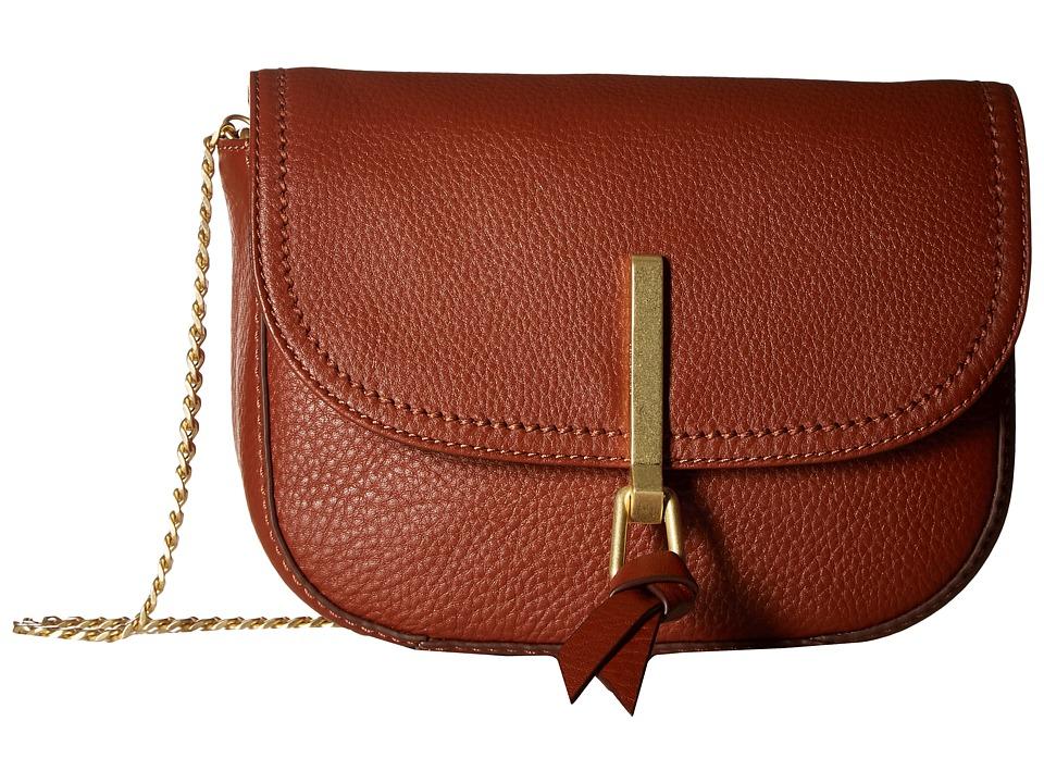 Vera Bradley Carson Mini Saddle Bag (Mesa Brown) Bags