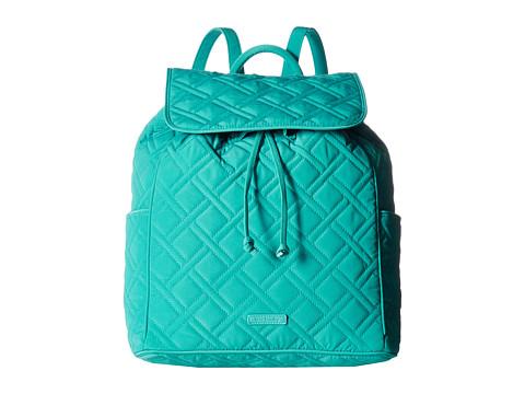Vera Bradley Drawstring Backpack - Turquoise Sea