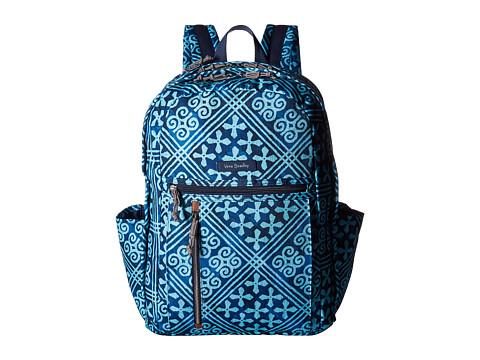 Vera Bradley Grand Backpack - Cuban Tiles