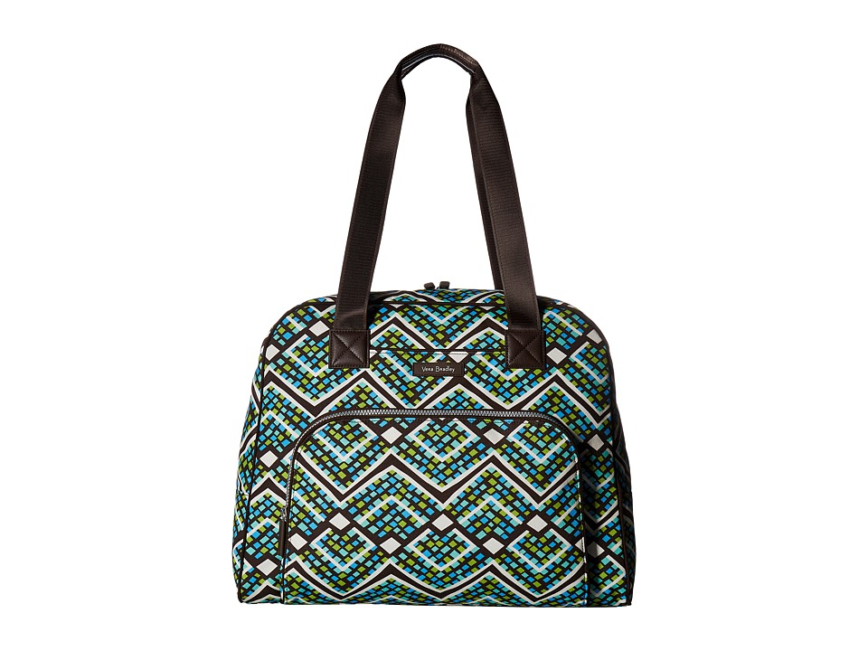 Vera Bradley Go Anywhere Carry-On (Rain Forest) Carry on Luggage