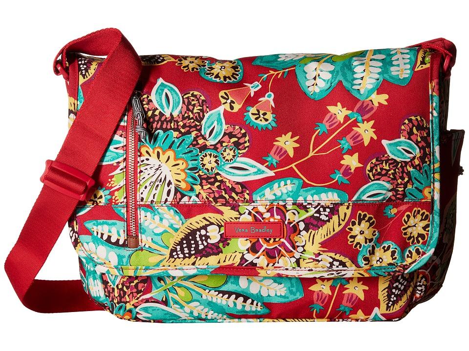 Vera Bradley Laptop Messenger (Rumba) Messenger Bags