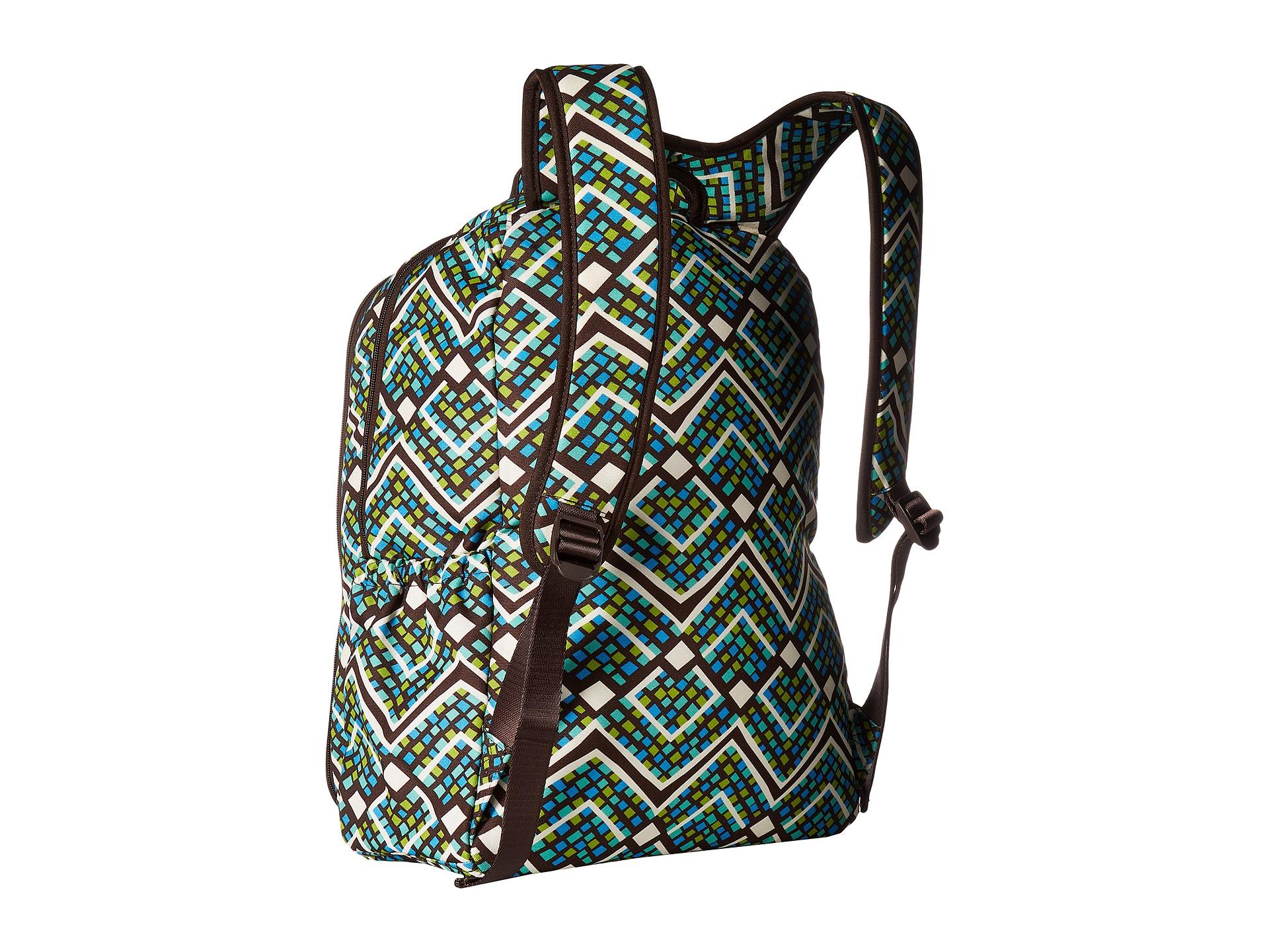 vera bradley lighten up backpack baby bag at. Black Bedroom Furniture Sets. Home Design Ideas