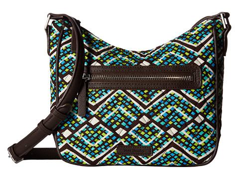 Vera Bradley Mini Vivian Crossbody - Rain Forest