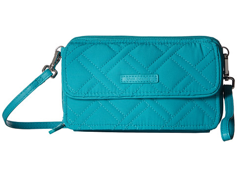 Vera Bradley RFID All-In-One Crossbody - Turquoise Sea