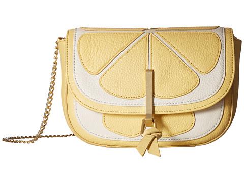Vera Bradley Mini Saddle Bag - Lemon Slice