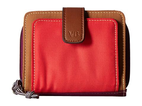 Vera Bradley Lighten Up RFID Pocket Wallet - Hot Lava