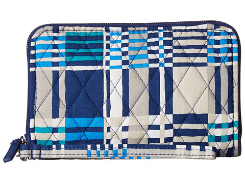 Vera Bradley RFID Grab & Go Wristlet - Santiago Woven