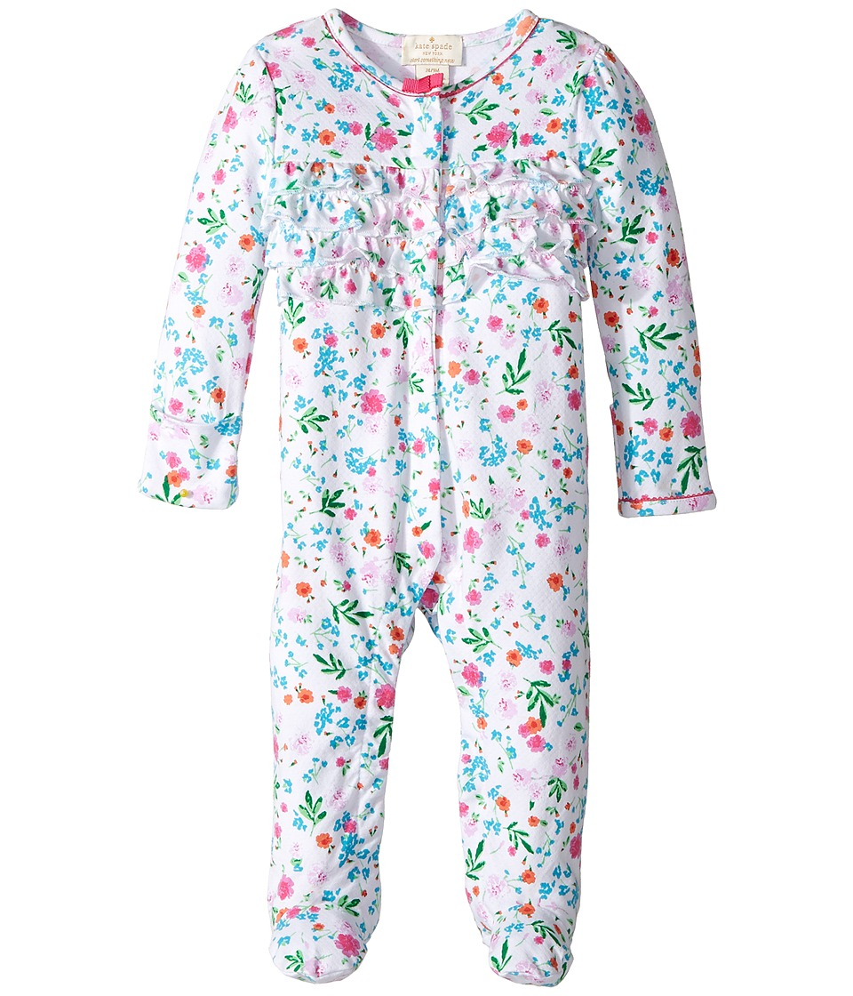 Kate Spade New York Kids - Ruffle Front Footie