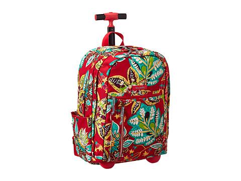 Vera Bradley Rolling Backpack - Rumba