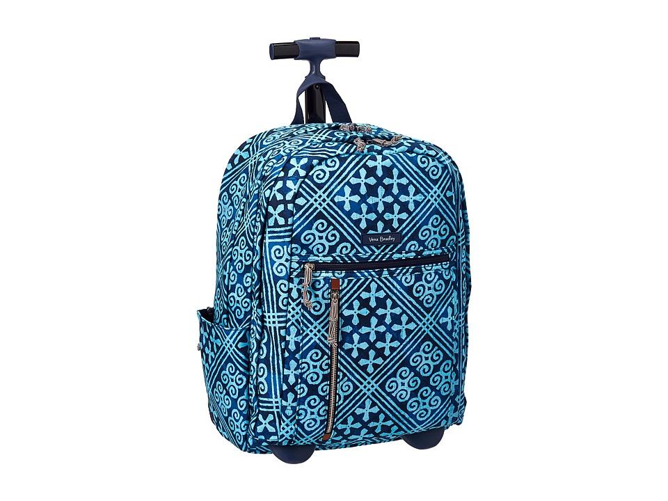 Vera Bradley Rolling Backpack (Cuban Tiles) Backpack Bags